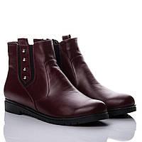 Ботинки La Rose 2144 36(24см) Бордовая кожа, фото 1