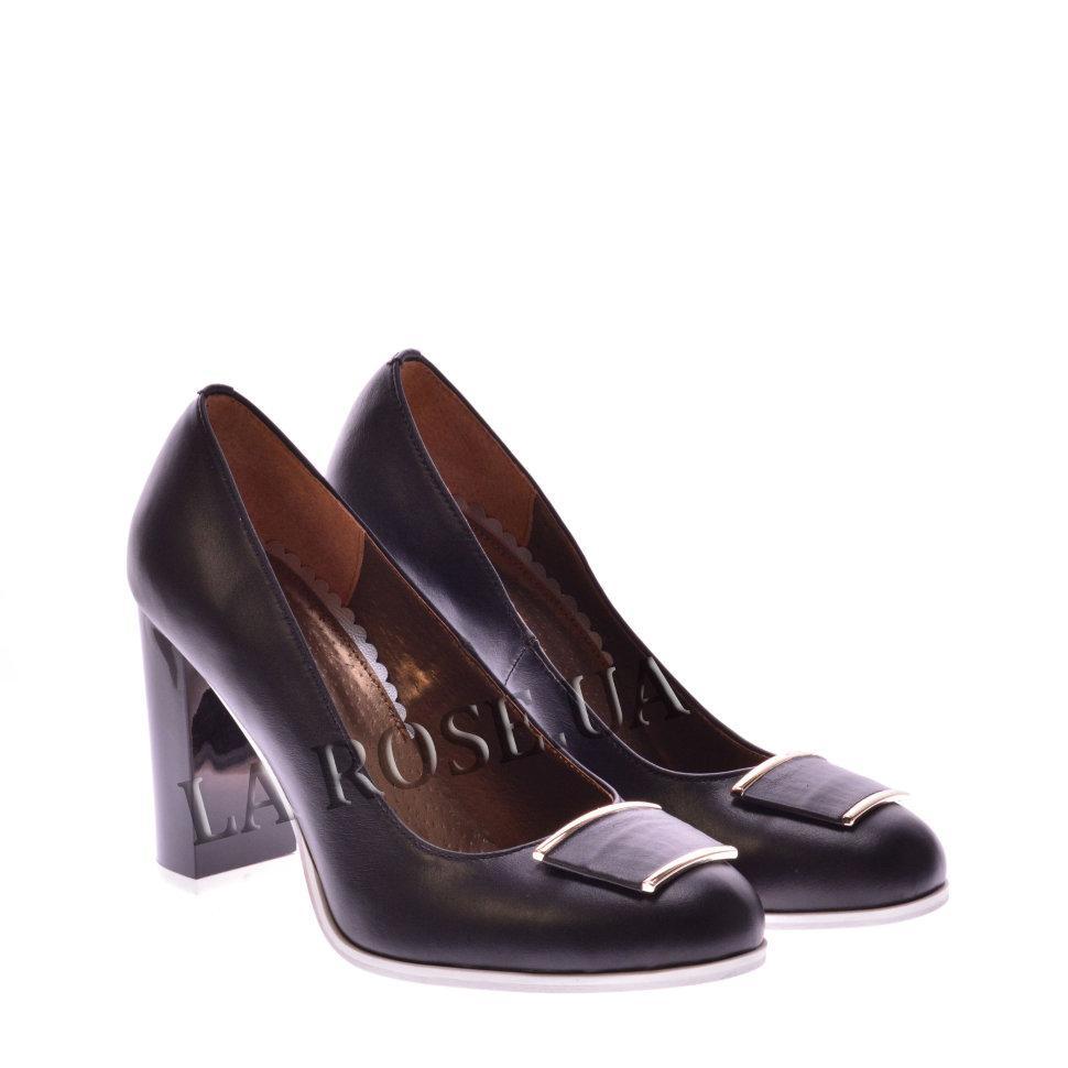 Туфли лодочки La Rose 822 36(24,2см) Черная кожа