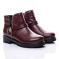 Ботинки La Rose 2153 36(24см) Бордовая кожа, фото 1