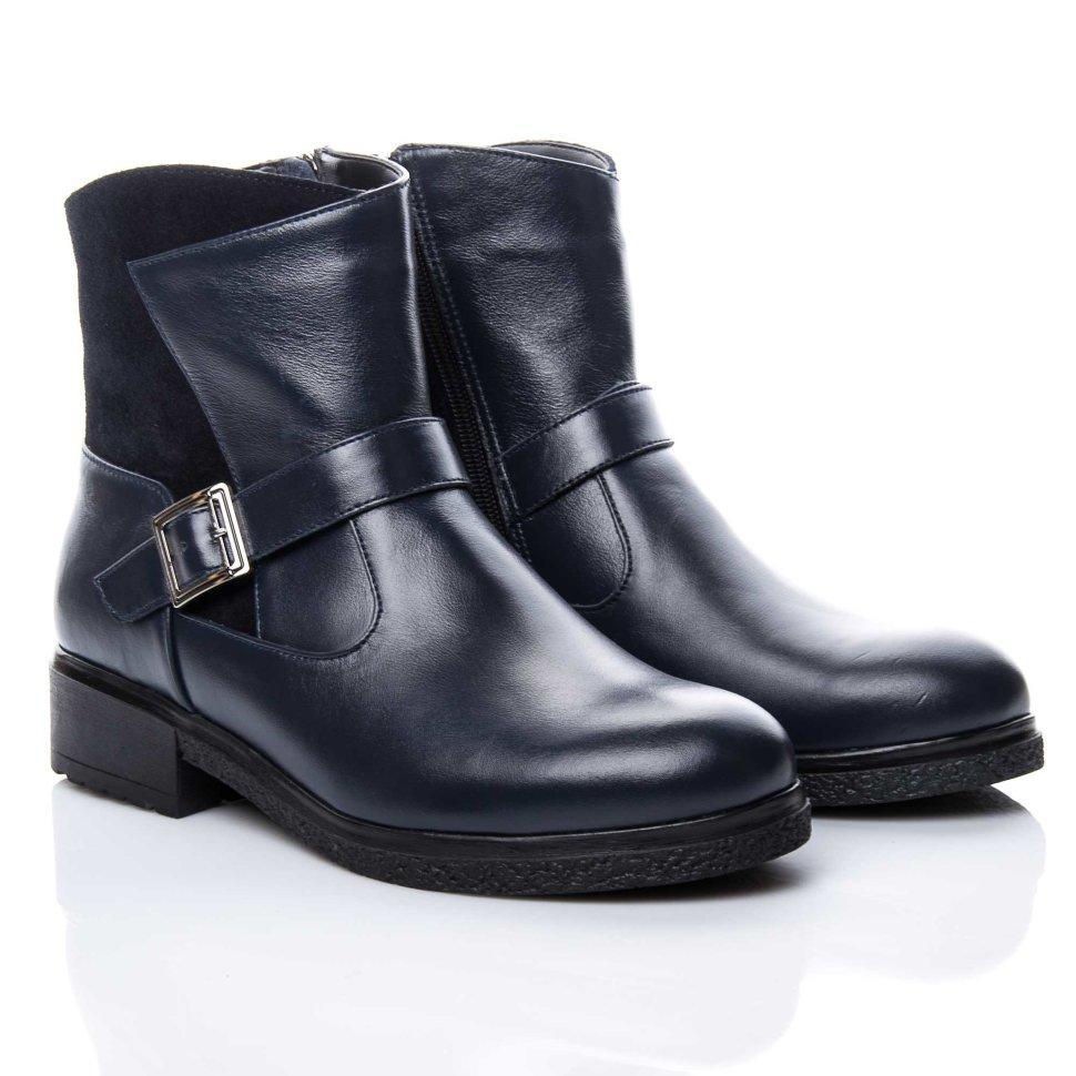 Ботинки La Rose 2158 36(24,5см) Синяя кожа