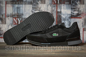 Кроссовки мужские 16931, Lacoste Sport, черные, < 42 43 > р. 42-26,5см.