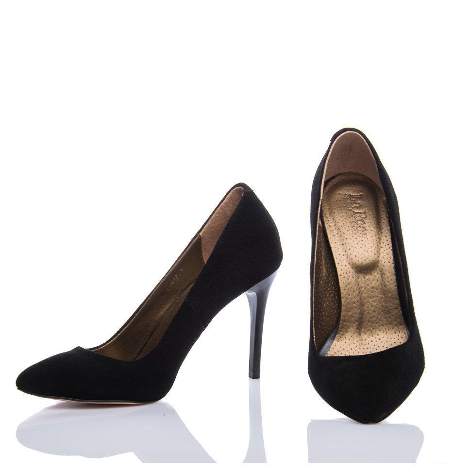 Туфли La Rose 537 36(23,5см ) Черная замша