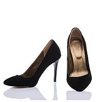 Туфли La Rose 537 36(23,5см ) Черная замша, фото 1