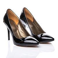 Туфли La Rose 537 36(23,5см ) Черный лак, фото 1