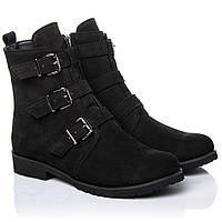 Ботинки La Rose 2263 36(24см) Черный нубук, фото 1