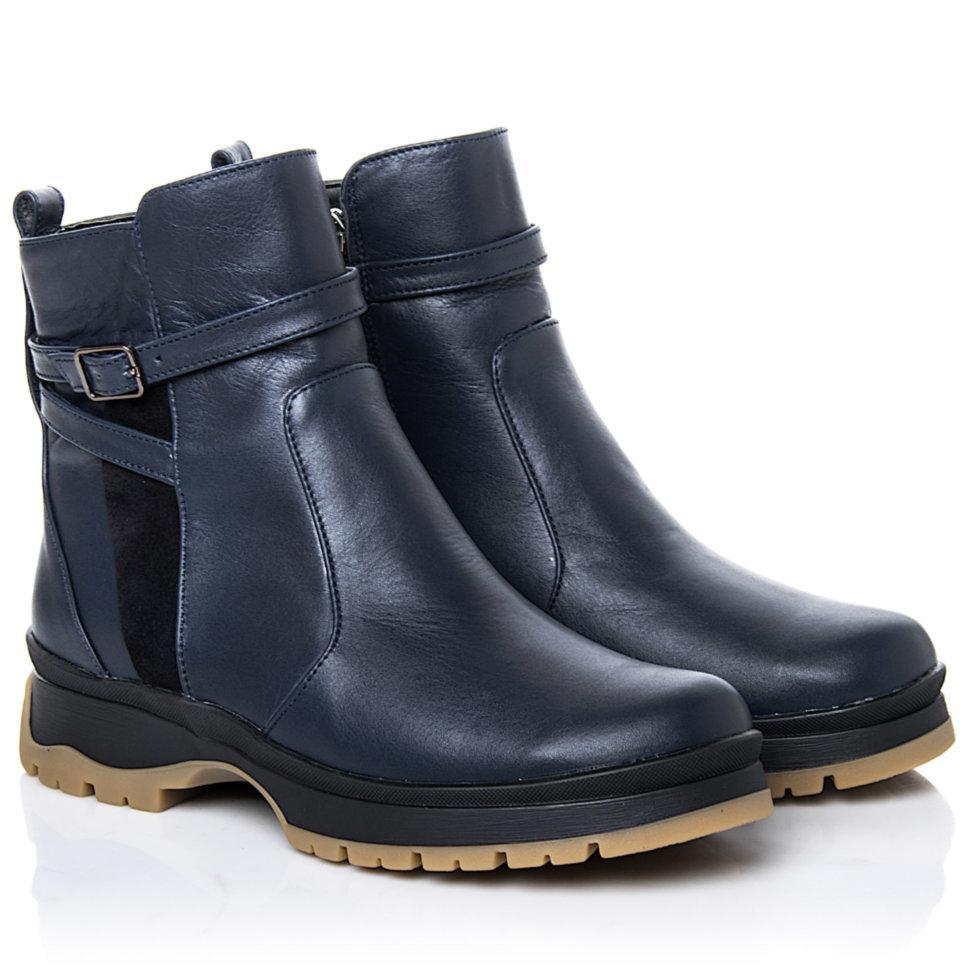 Ботинки La Rose 2265 36(23,4см) Синяя кожа