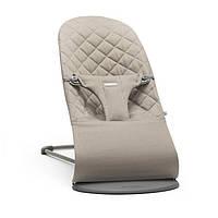 Кресло-шезлонг BabyBjorn Balance Sand Grey Mesh 006017А