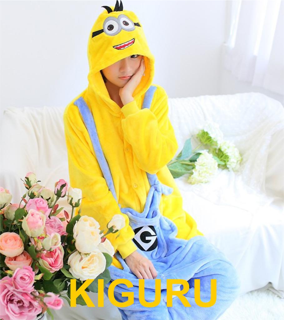 Кигуруми пижама миньон