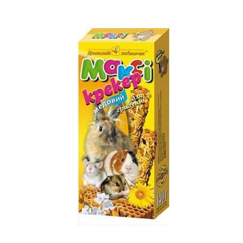 Макси крекер для грызунов микс (6 вкусов в упаковке)