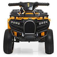 Квадроцикл ZP5258E-6 (1шт) мотор15W, 1аккум6V4,5AH, USB, EVA, желтый, фото 1