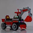 *Трактор - електромобіль (каталка - толокар) арт. 4144-7, фото 4