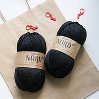 Носочная пряжа Drops Nord - dark grey, 06