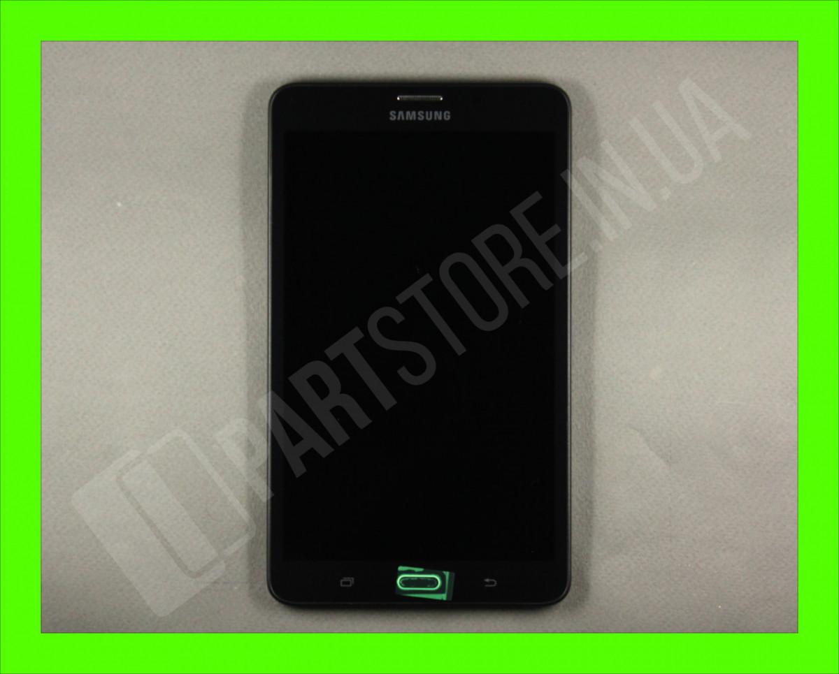 Дисплей Samsung T280 Tab A 7.0 LTE Black (GH97-18756A) сервисный оригинал в сборе с рамкой