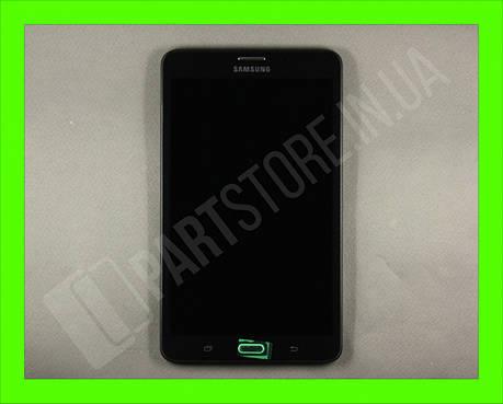 Дисплей Samsung T280 Tab A 7.0 LTE Black (GH97-18756A) сервисный оригинал в сборе с рамкой, фото 2