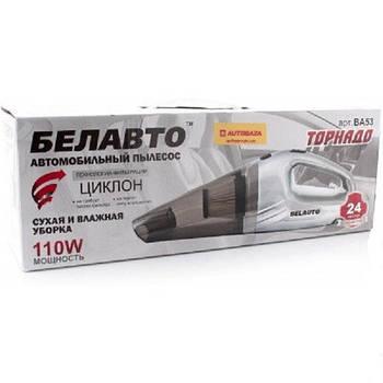 Автомобильный пылесос 110W BELAUTO Торнадо BA53-B  | сухая и влажная уборка