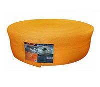 Демпферная лента для стяжки 8мм*150мм*50м с насечками оранжевая