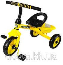 Велосипед трехколесный TILLY TRIKE T-315 желтый