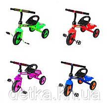 Велосипед трехколесный TILLY TRIKE T-315, салатовый, красный, синий, фиолетовый