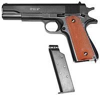 Металевий игрушеный пістолет на пульках Colt 1911