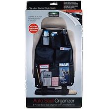 Органайзер Auto Seat Organizer для авто кресла Черный (n-606)