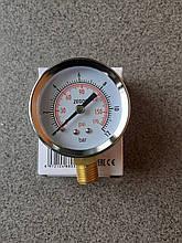 Манометр радиальный TESORO YB-H12 0-12б.50мм
