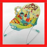 Детский шезлонг-качалка Шезлонг для ребенка Дитячий шезлонг для сна