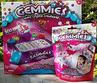 Конструктор-бусины Commies Make Crystal Creations, конструктор для девочки, Конструктор-намистини Commies Make Crystal Creations, конструктор для