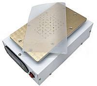 Сепаратор вакуумный с компрессором для разделения дисплейных модулей 190*110мм