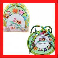 Детский развивающий коврик для младенцев Коврик для ребенка с рождения