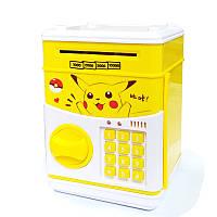 Детская электронная копилка сейф Банк, Дитяча електронна скарбничка сейф Банк