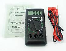 Мультиметр тестер DT-182, мультиметры, как проверять мультиметром, мультиметр цифровой