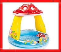 Детский надувной бассейн Intex «Грибочек» (102*89 см) Детский бассейн Бассейн для детей Надувной бассейн
