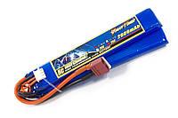 Аккумулятор для страйкбола Giant Power Li-Pol 7.4V 2S 2000mAh 25C 2 лепестка 10.5х21х126мм T-Plug