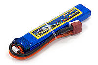 Аккумулятор для страйкбола Giant Power Li-Pol 7.4V 2S 1000mAh 25C 11.5х20х103мм T-Plug