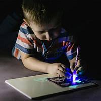 Набор для творчества Рисуй Светом (А3), Детский планшет для рисования, Волшебный планшет для рисования