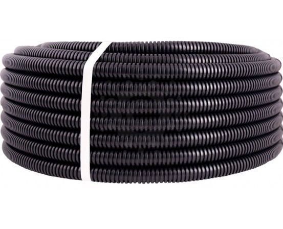 Труба гофрированная для проводки d 10 1м разрезная