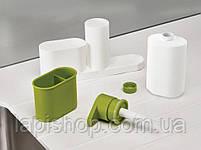 Органайзер для раковины с дозатором для мыла SINK BASE PLUS 3 в 1, фото 5