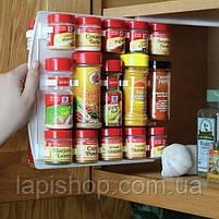 Держатель кухонный органайзер для шкафов и холодильников Clip n Store , фото 4