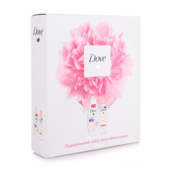 Подарочный набор Dove Нежная красота (крем-гель для душу+дезодорант спрей)