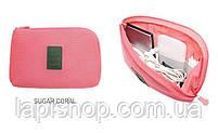 Органайзер для зарядок и прочих мелочей Monopoly Cable Pouch Розовый, фото 2