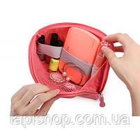 Органайзер для зарядок и прочих мелочей Monopoly Cable Pouch Розовый, фото 3