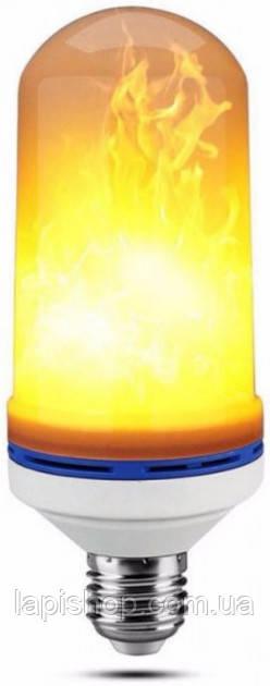 Лампа с эффектом пламени огня LED Flame Bulb А+E27