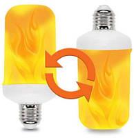 Лампа с эффектом пламени огня LED Flame Bulb А+E27, фото 2