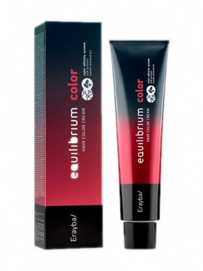 Крем-краска для волос Erayba Equilibrium Hair Color Cream 8/11 - интенсивный пепельный светло-русый
