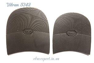 Набойка Vibram 5342 ARIEL TACCO р. 10, толщ. 7 мм, цв. темно-коричневый, фото 2