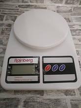 Весы кухонные SF-400 с цифровым дисплеем Белые