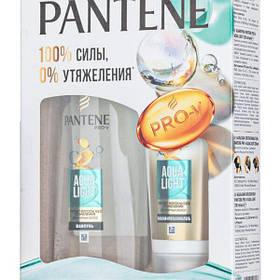 Подарочный набор Pantene Аква Лайт (Шампунь 250мл+Бальзам 200мл) Пантин