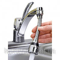 Насадка для воды на кран Turbo Flex, фото 7