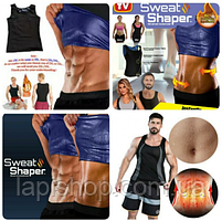 Мужская майка для похудения Sweat SHAPER M / L ; XL / 2XL, фото 4