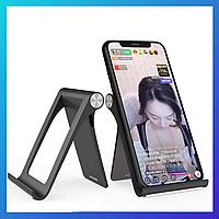 Подставка держатель для телефона или планшета с регулируемым углом наклона, фото 1